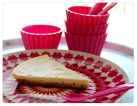 recette, cheesecake, saint-morêt, eau de fleur d'oranger, assiettes sentou