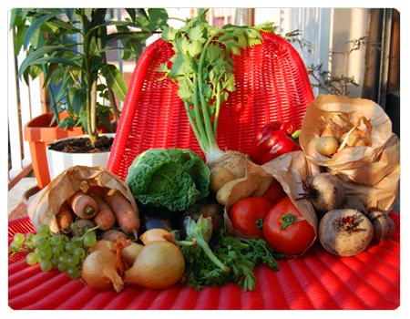 panier bio, légumes bio, marché bio, champigny, carotte, betterave, aubergine, chou, oignon, échalote, pommes-de-terre, céleri, tomate, ratatouille, chips de betterave, petits producteurs