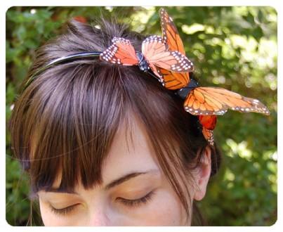 headband butterfly