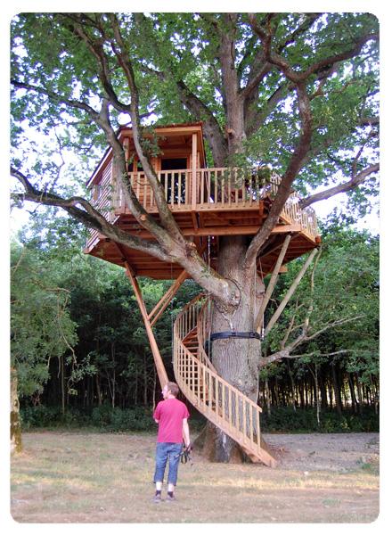 ma nuit dans une cabane dans un arbre ateliers diy tuto. Black Bedroom Furniture Sets. Home Design Ideas