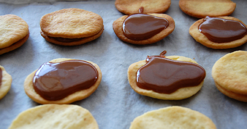 biscuits caramel