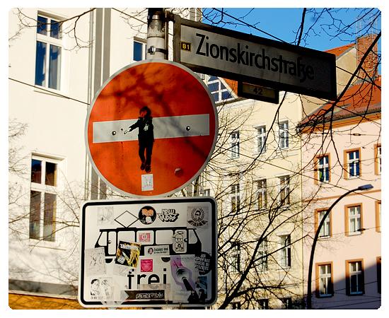 zionskirchstrasse week-end à Berlin