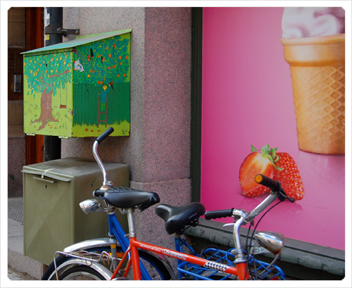 sejour a stockolm boite vélos