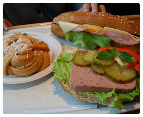 sandwiches archipel boat