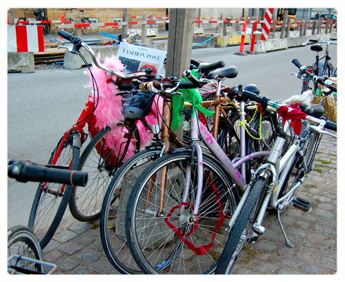 copenhague bicyclettes et fashion post