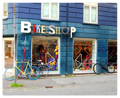 copenhague bike shop