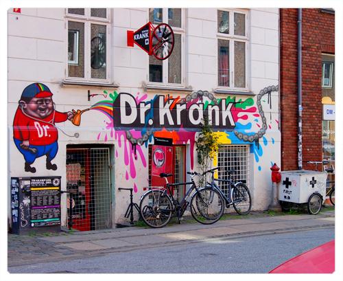 Copenhague - København - dr krank