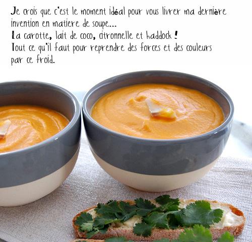 recette soupe-carotte-lait-de-coco-citronnelle-haddock