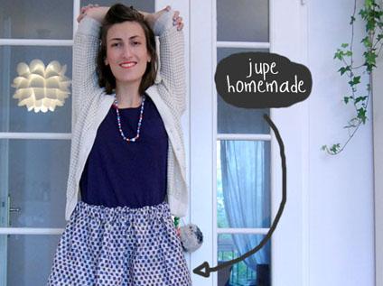 jupe handmade