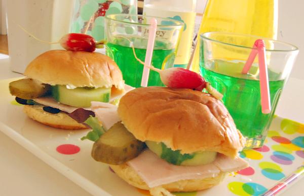 recette de mini sandwiches pour pique nique plateau tv buffet