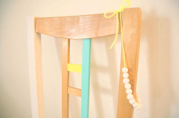 DIY Peindre Une Chaise En Bois