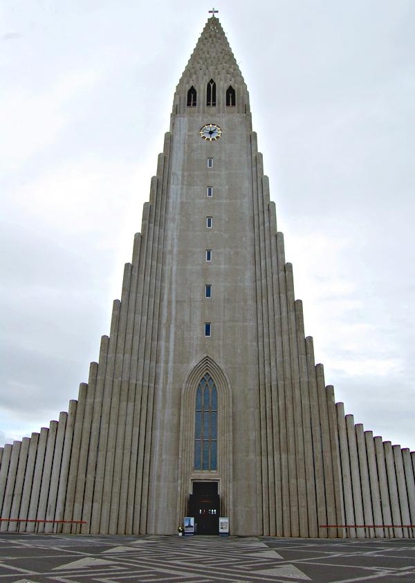 photos de l'Islande église de Reykjavik