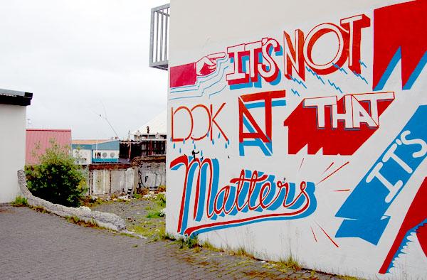 Iceland Reykjavik street art