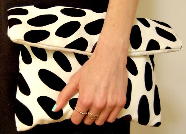DIY couture pochette trousse - les gambettes sauvages