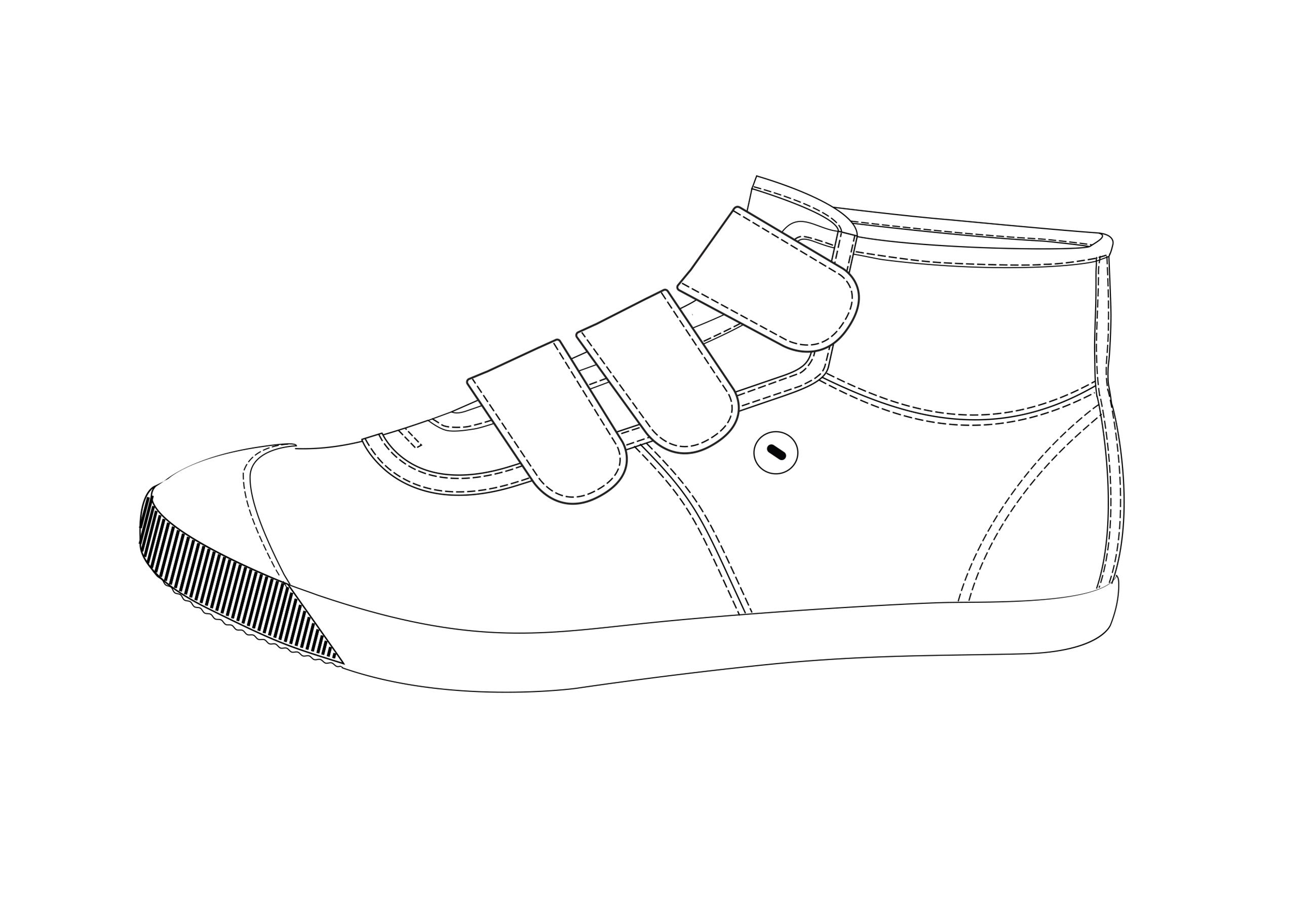chaussure basket dessin 2591
