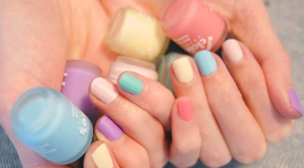 vernis mat pastels