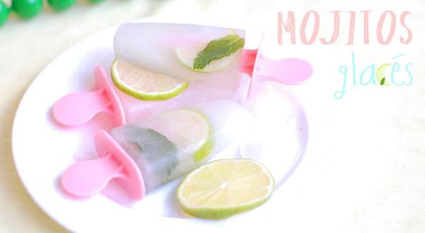 glace mojito popsicles