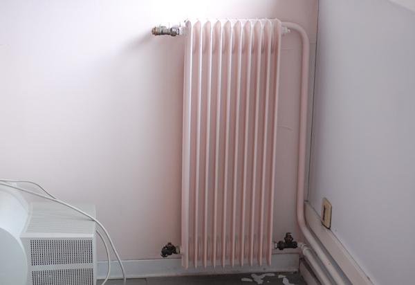 radiateur rose