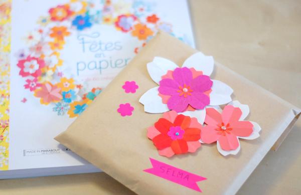 tutoriel DIY fleur en papier