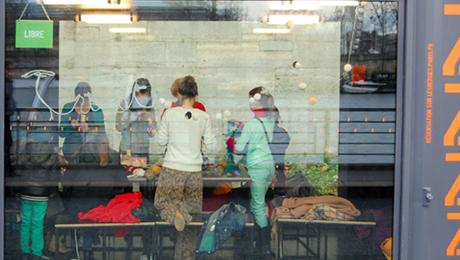 ateliers tricot à Paris
