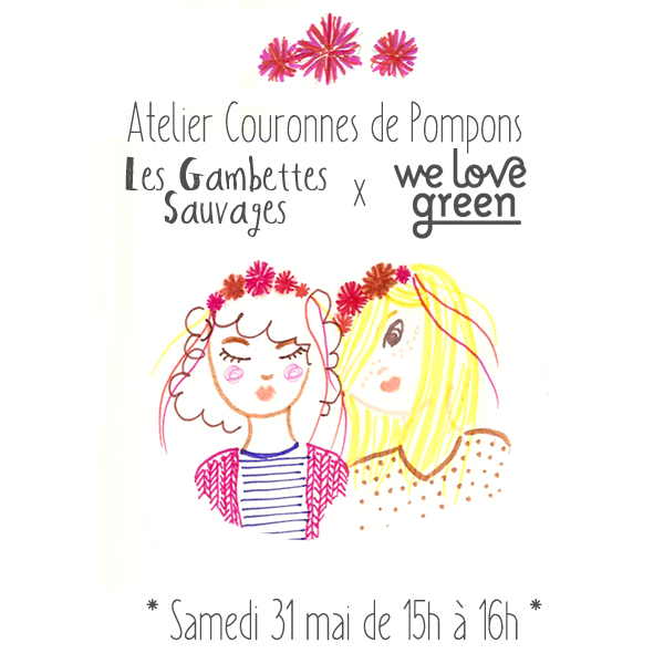 Atelier Les Gambettes sauvages - We Love Green