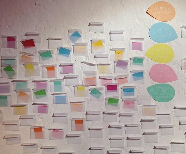 mur des gratitudes pinterest