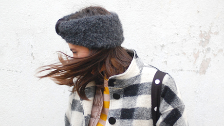 le headband cachemire