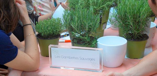 Atelier DIY Les Gambettes  sauvages x Truffaut au Klin d'Oeil