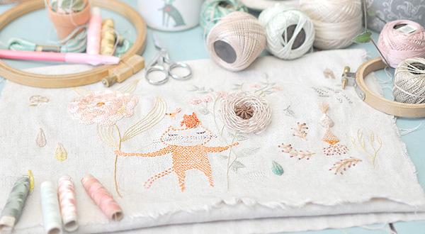 MIGA DE PAN embroidery