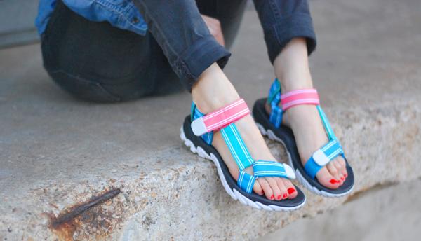 la sandale sporty zara
