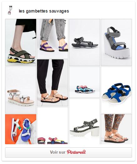 pinterest sandale sporty