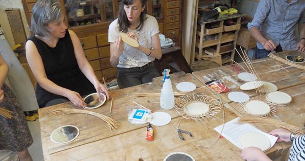 atelier vannerie en osier