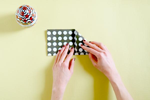 Atelier DIY : Nid origami Galler chocolatier 11