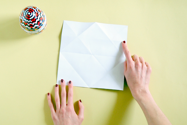 Atelier DIY : Nid origami Galler chocolatier 15
