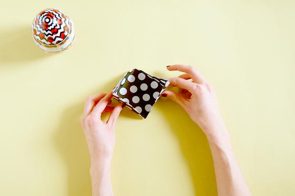 Atelier DIY : Nid origami Galler chocolatier 36