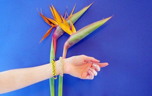 ATELIER DIY bracelet tressé