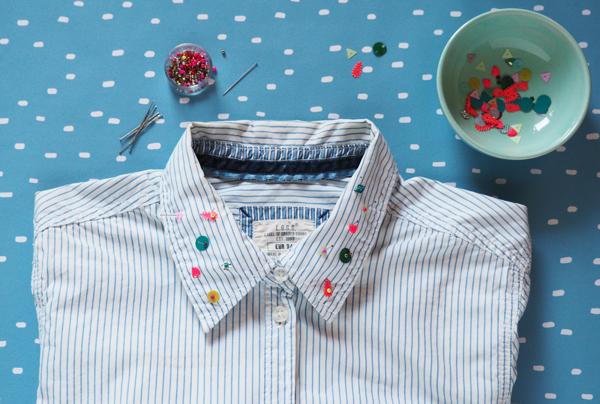 DIY customiser une chemise