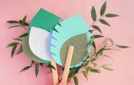 Tuto DIY : éventail végétal en papier