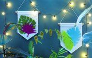 Atelier DIY à Paris : Bannières tropicales à la Casa Corona !