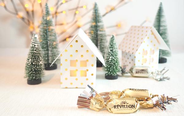 DIY maisons en papier lumière