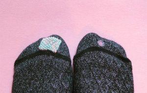 chaussettes reprisées diy