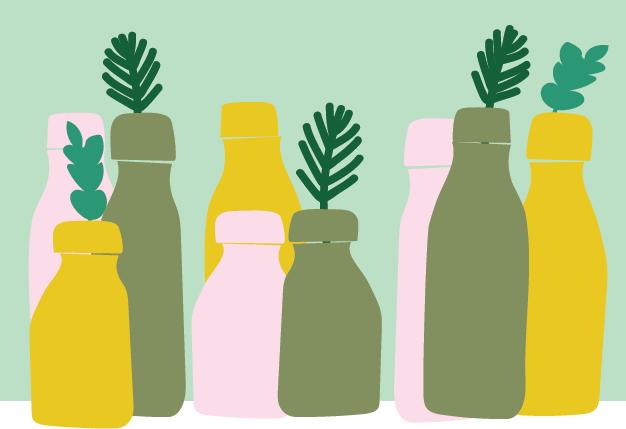 bouteilles zero déchets