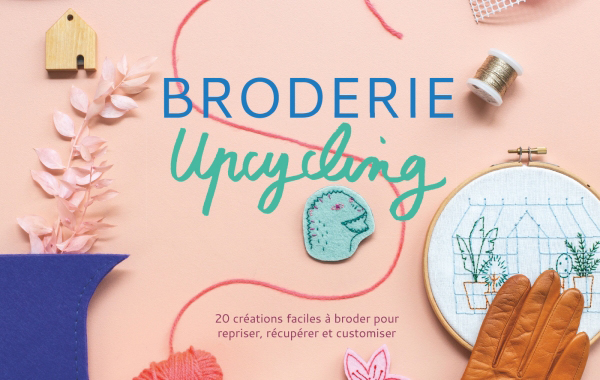 broderie upcycling livre