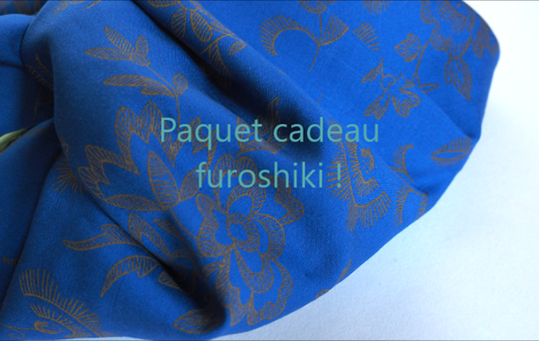 diy furoshiki cadeau ecologique